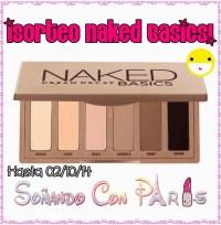 Sorteo Naked Basics