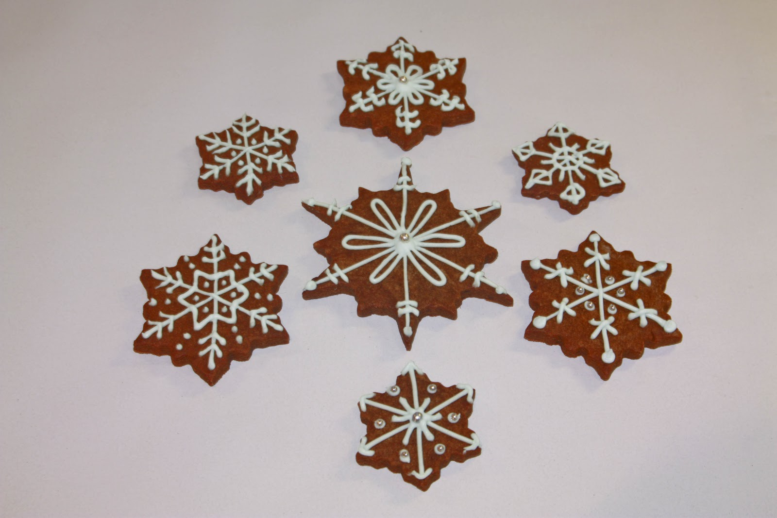 The Cake Trail Christmas Spice Biscuits