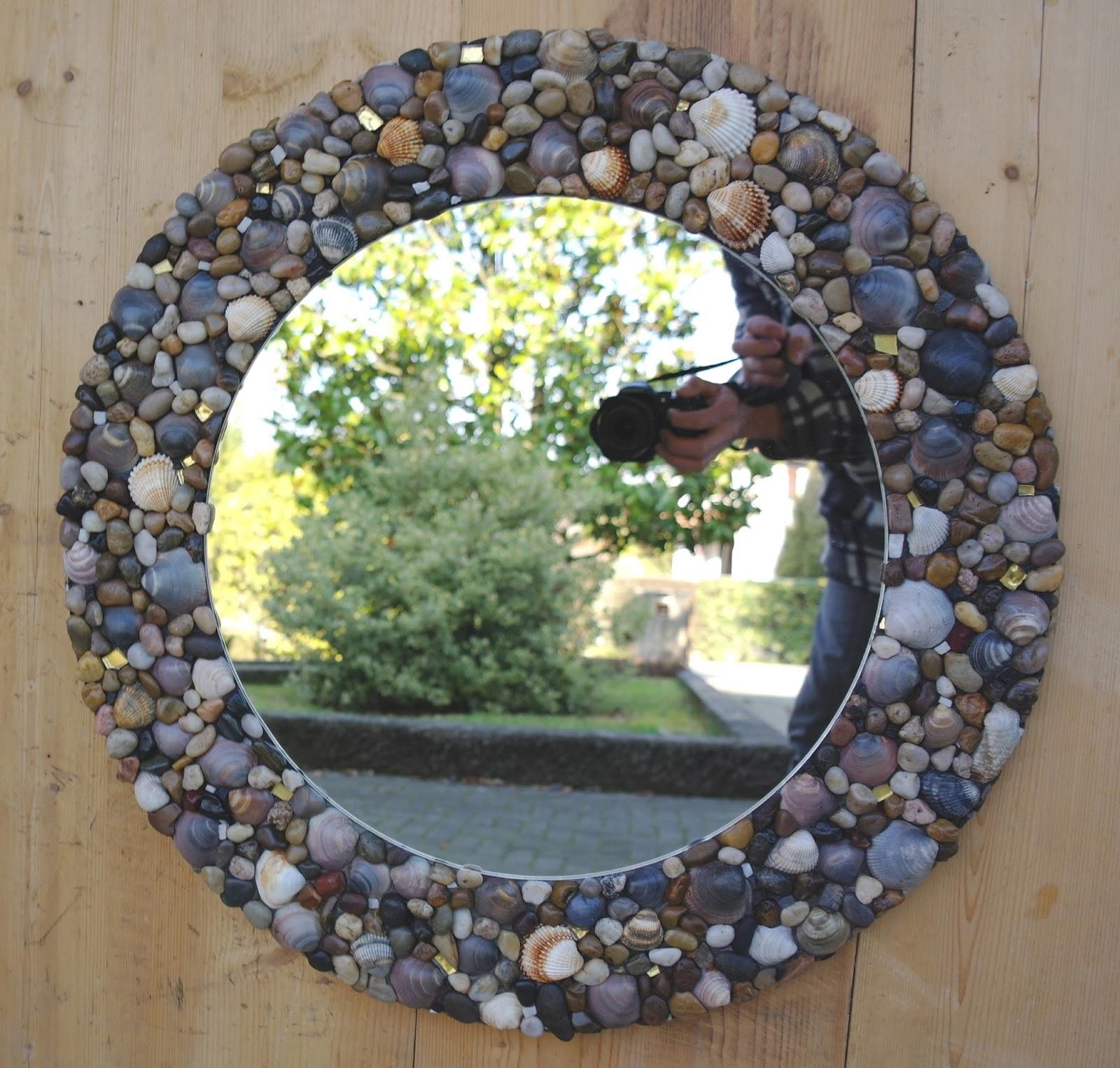 Mosaico di cristian novembre 2015 - Specchio con conchiglie ...