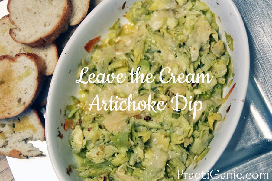 Leave the Cream Artichoke Dip