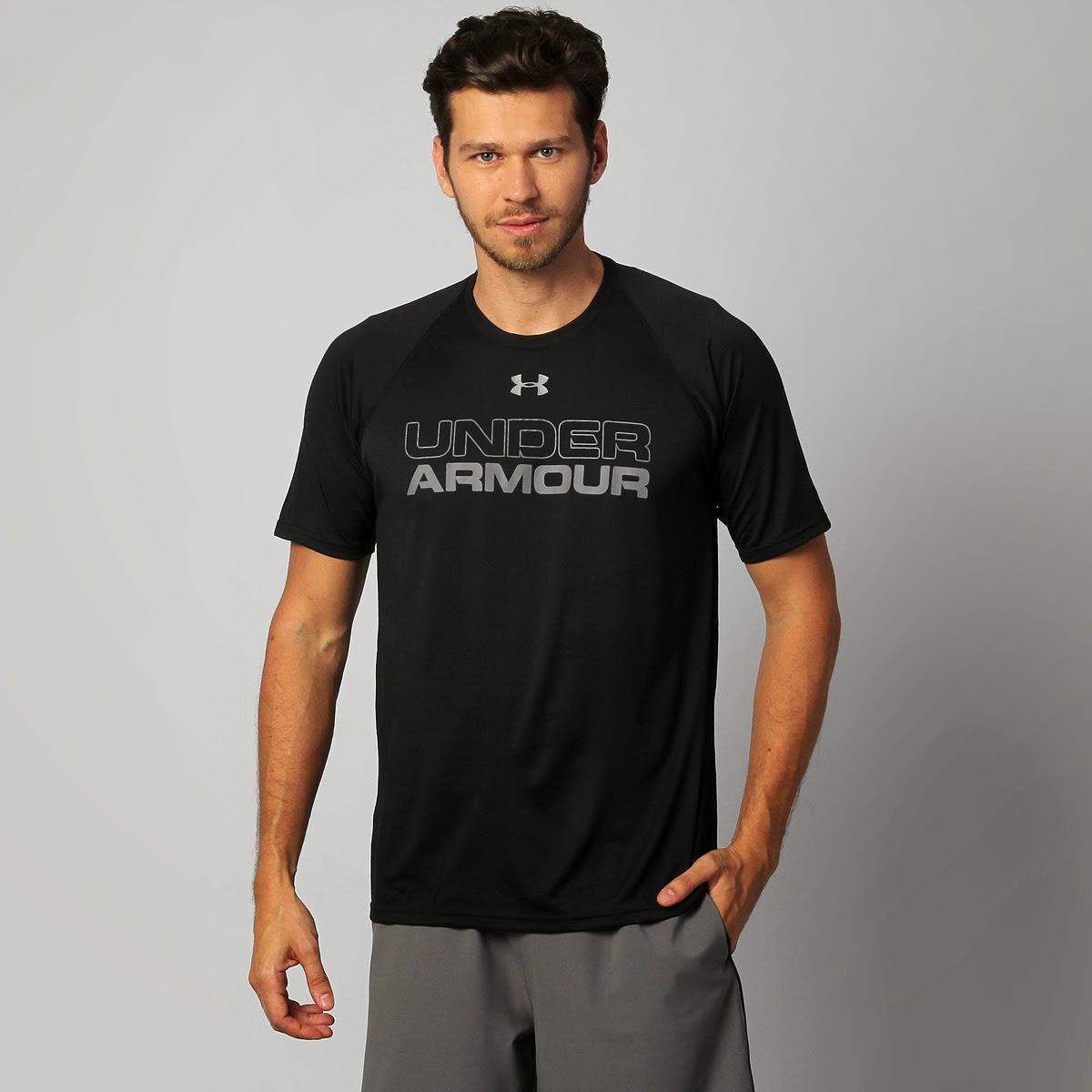 Camiseta Under Armour Core Training-Wrdmrk Graphic