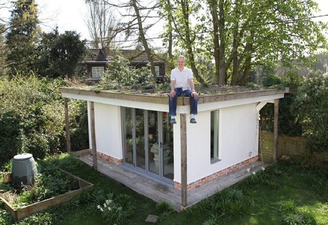 Shedworking: Hempcrete: the most ecofriendly garden office ever?