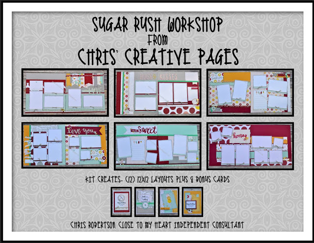 Sugar Rush Workshop Guide & e-files