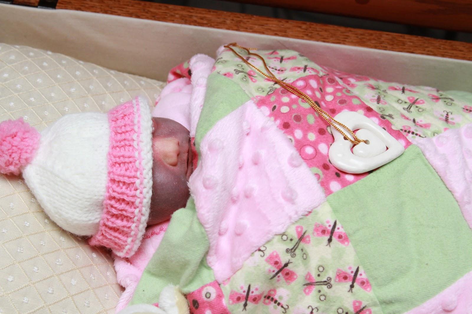 Baby Rachels Legacy Open Casket