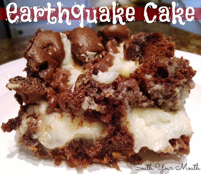 Earthquake Cake Recipe With Frosting