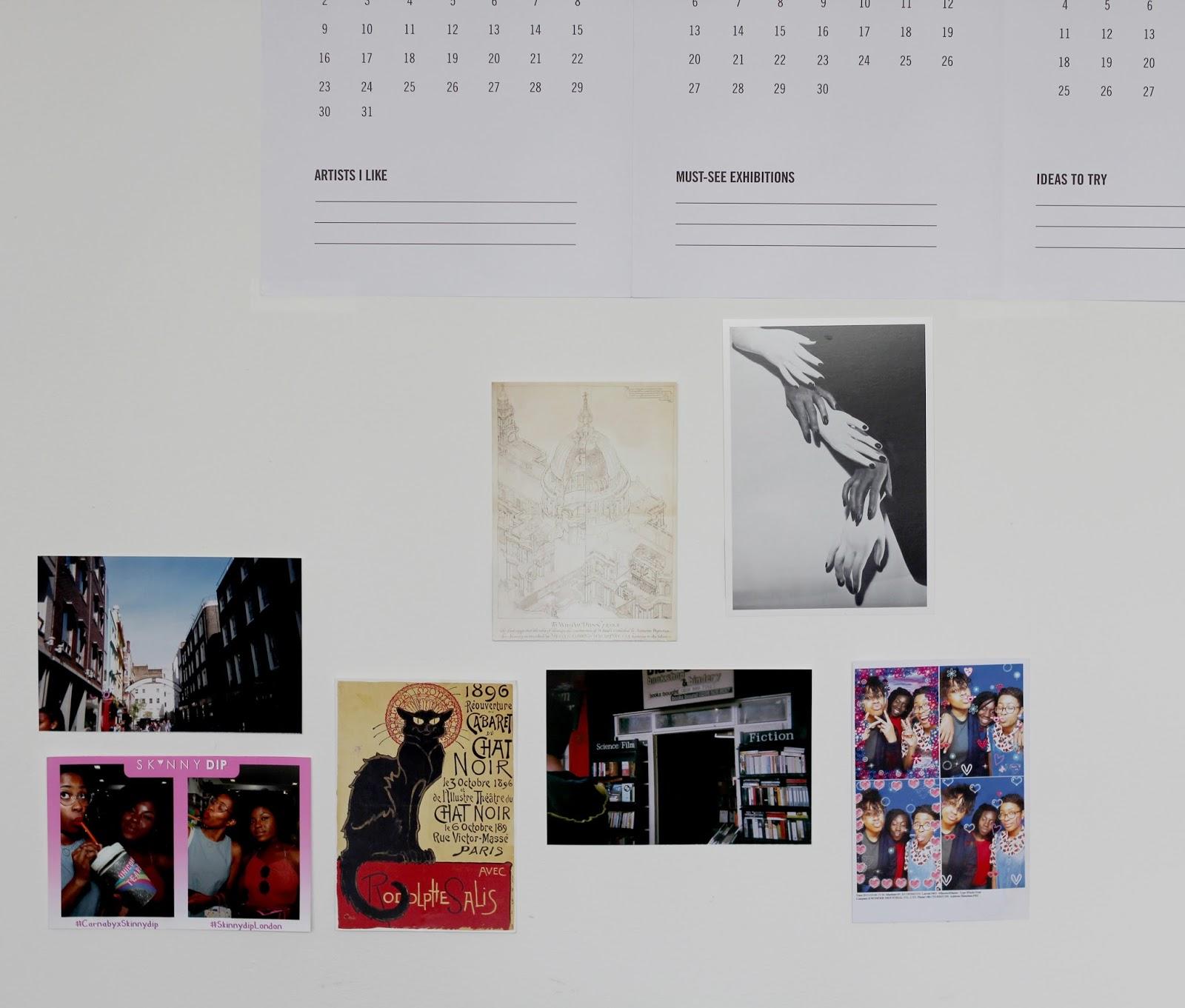 cass art calendar