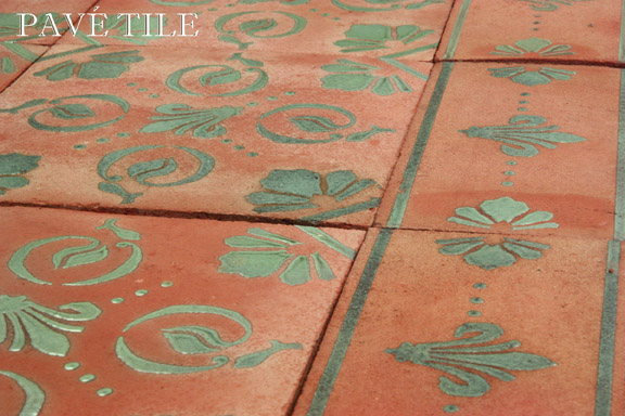 The cobblestone path the pav tile wood stone blog for Carrelage tunisie