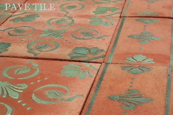 The Cobblestone Path The Pav Tile Wood Stone Blog Outdoor Living Terra Cotta Tile Collection
