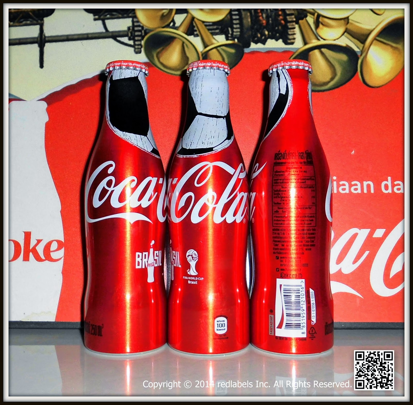 aluminum bottle collector club coca cola fifa world cup aluminum bottle thailand 2014. Black Bedroom Furniture Sets. Home Design Ideas