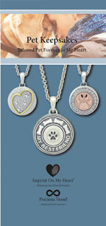 Imprint On My Heart Pet Keepsake Brochure