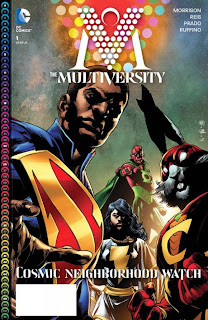 Captain Carrot on The Multiversity #1 cover