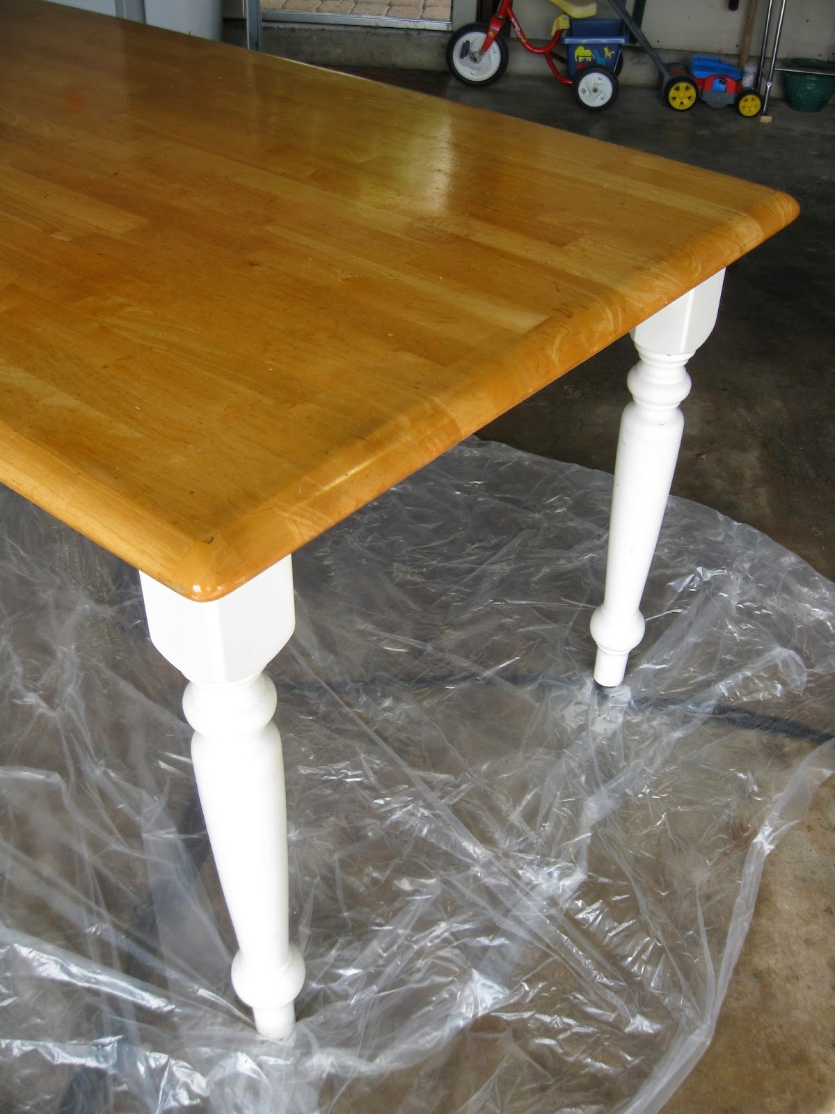 The Nurtured Nest: How To Turn An Ugly, Generic Kitchen Table Into A ...