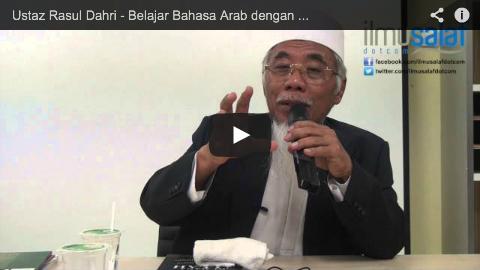 Ustaz Rasul Dahri – Belajar Bahasa Arab dengan Ahli Bid'ah