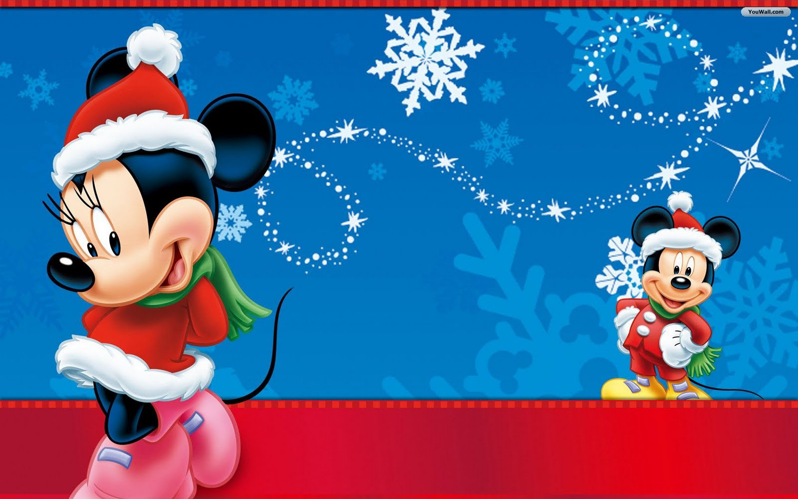 Kid at Christmas: 5 adorable Disney Christmas wallpapers for your ...