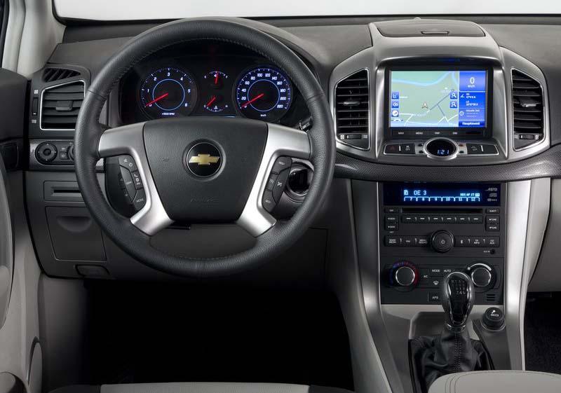 Chevrolet Captiva 2012 Auto Car 20