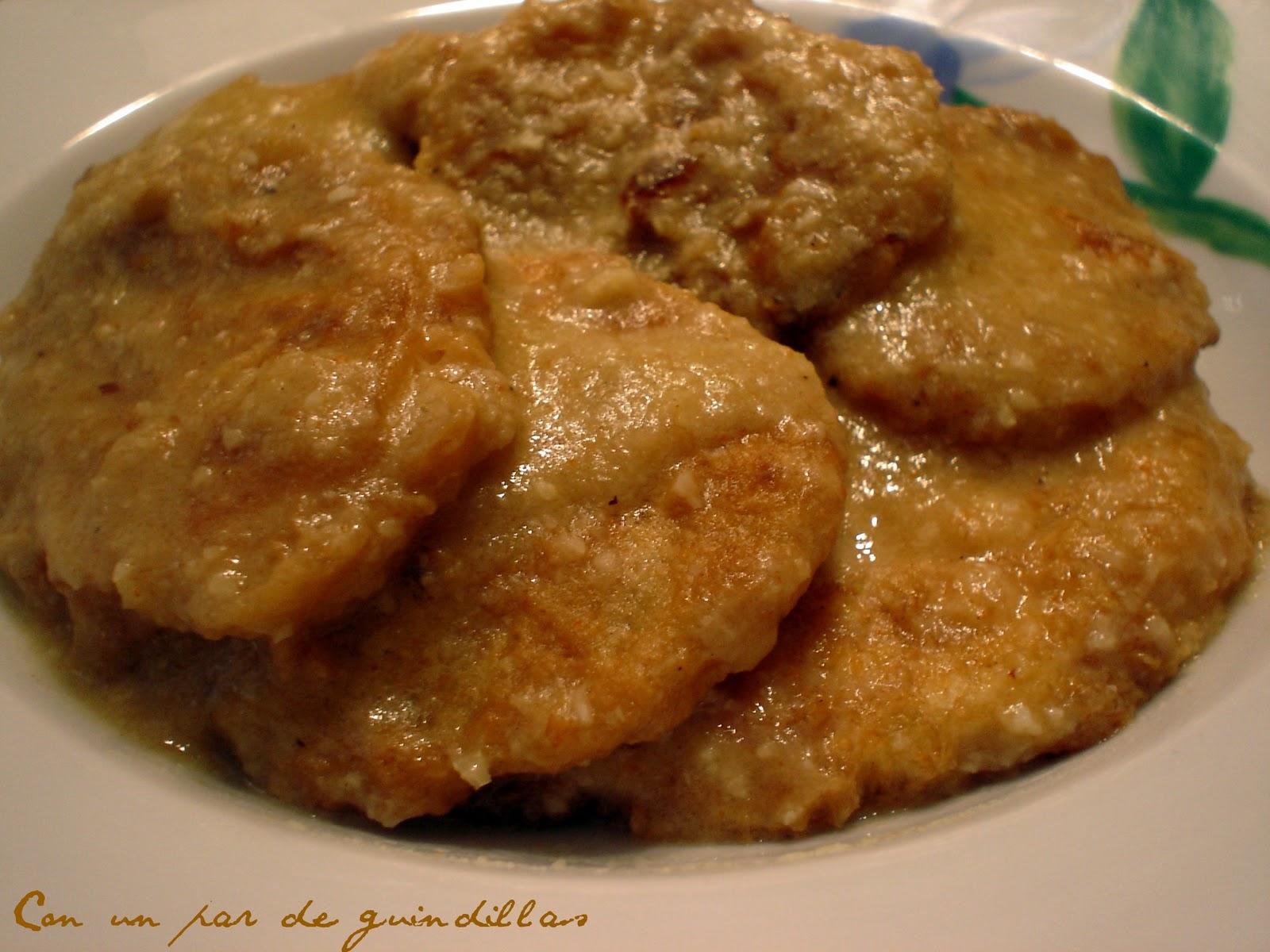 Patatas a la importancia con un par de guindillas for Cocinar patatas a lo pobre