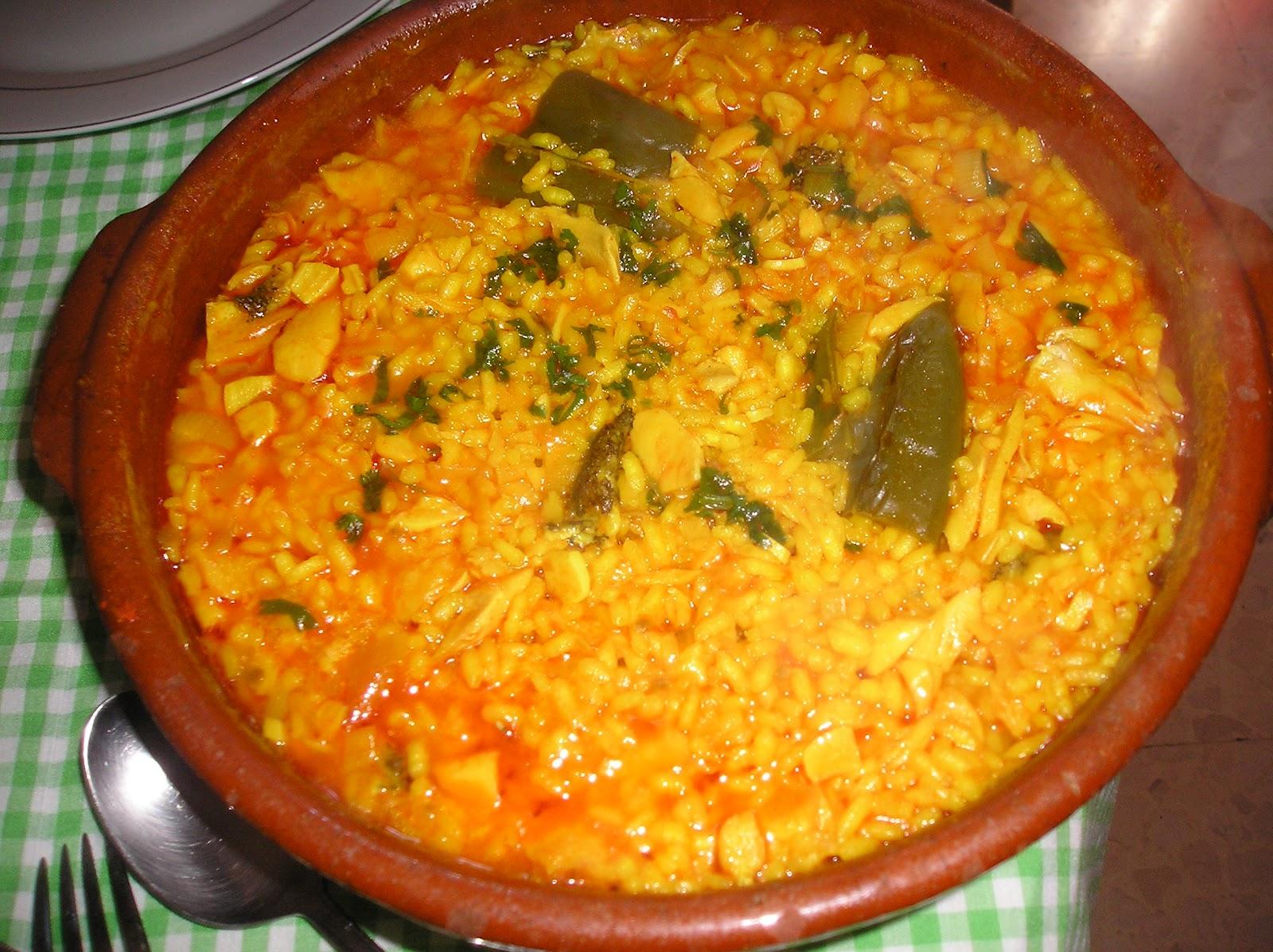 Cocina tradicional de alhaurin de la torre y la comarca - Arroz con bacalao desmigado ...
