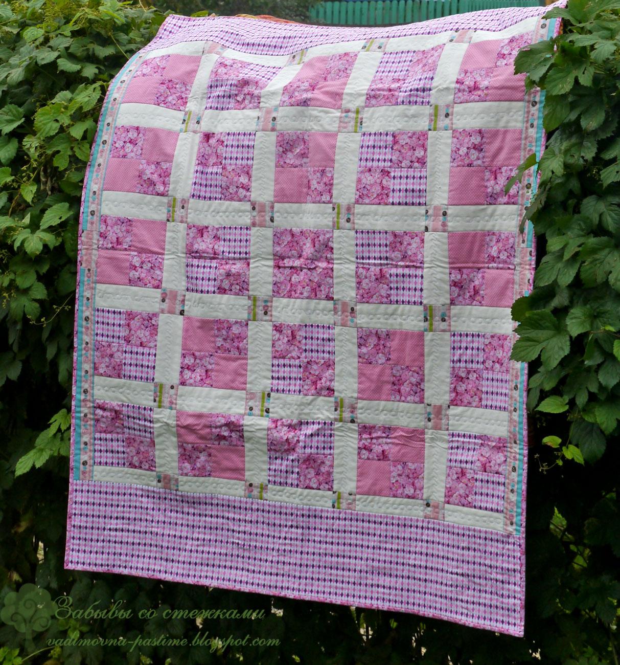 лоскутное одеяло для детей