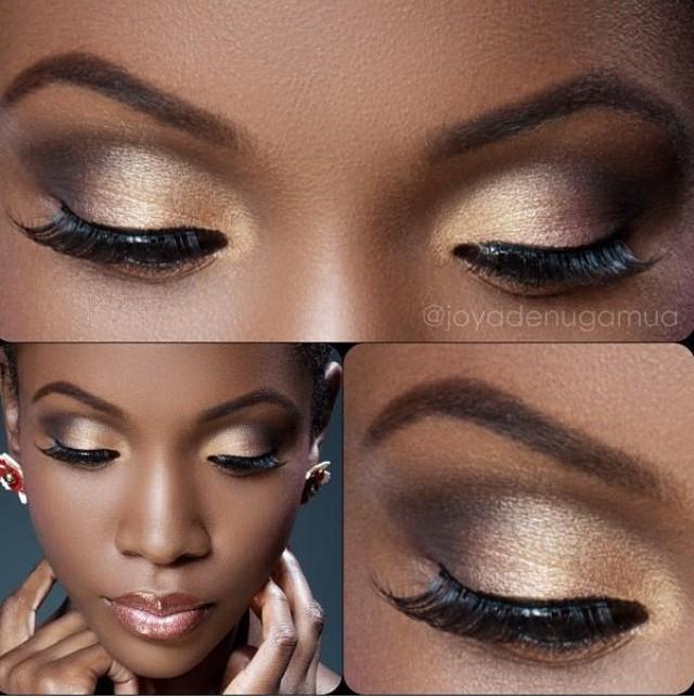 Maquiagem para pele negra com fotos