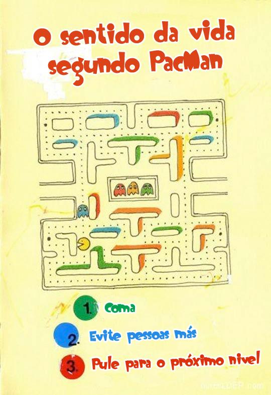 Sentido da vida segundo Pacman