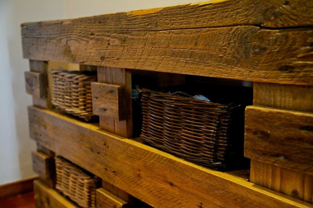Mueble recibidor con palets gallery of recibidor de palets foto with mueble recibidor con - Mueble recibidor rustico ...