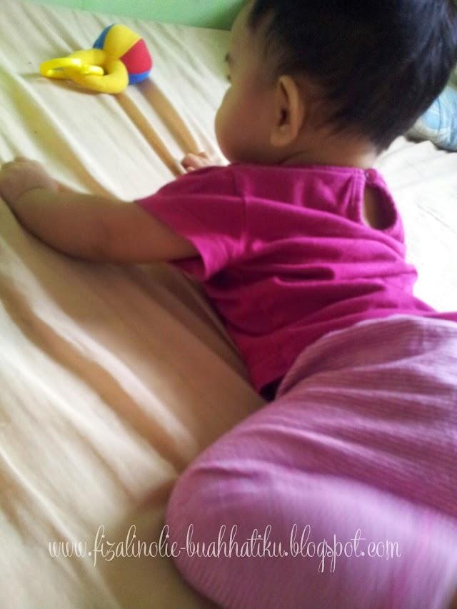 Perkembangan Nur Ain 5 Bulan