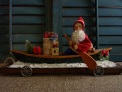 SOLD - Canoe Santa