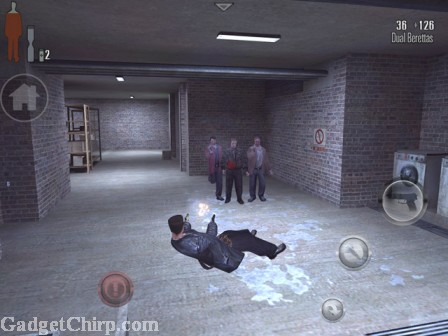Max Payne Mobile iPhone Android Screenshot