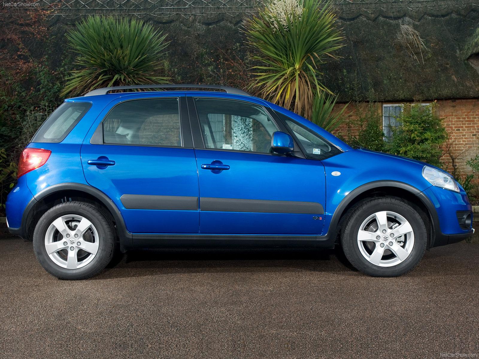 Hình ảnh xe ô tô Suzuki SX4 2010 & nội ngoại thất