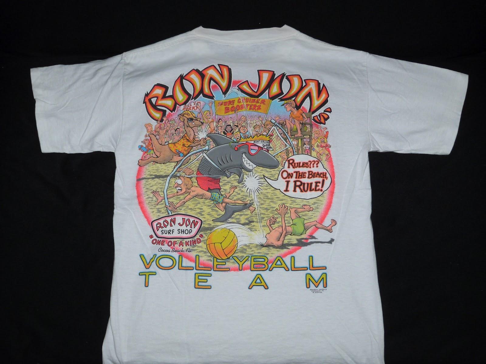 Fifty2weekhi vintage 80 39 s ron jon surf shop cocoa beach for Surf shop tee shirts