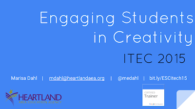 Engaging Students in Creativity ITEC 2015