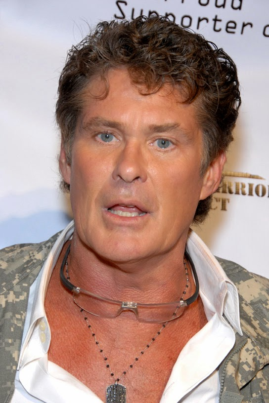 American Singer David Hasselhoff New Images