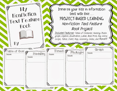 http://www.teacherspayteachers.com/Product/Non-Fiction-Text-Feature-Book-Project-971511