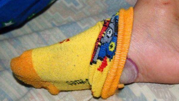 หอมใหญ่ใส่ในถุงเท้า แก้ไข้ รักษาหวัด ได้จริงหรือ