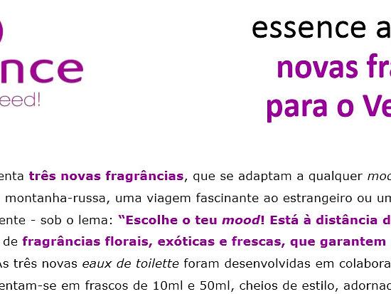 NOVAS FRAGRÂNCIAS PARA O VERÃO 2013 - ESSENCE