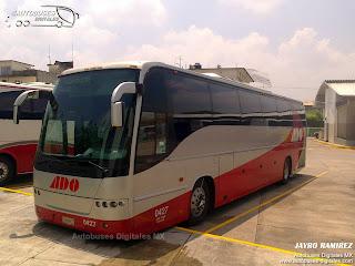 Autobuses en Mexico - Octubre 2014
