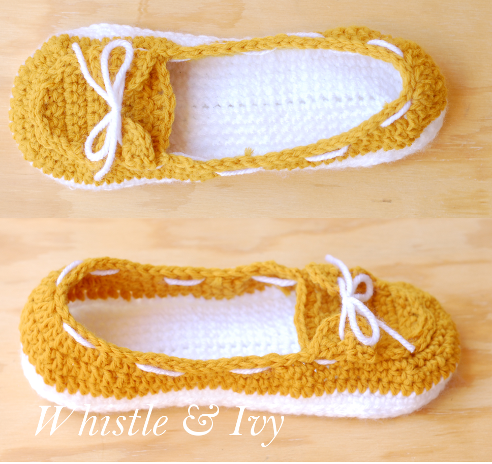 Crochet Pattern For Baby Boat Shoes : My First