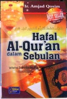 buku Hafal Al-Qur'an dalam sebulan penerbit Qiblati press
