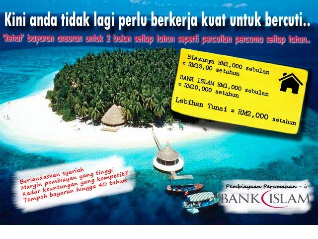 Dapatkan pembiayaan perumahan anda di Bank Islam
