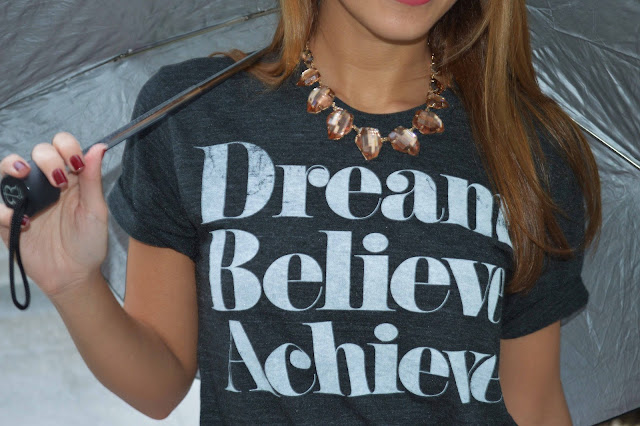 Dream, believe, achieve tshirt