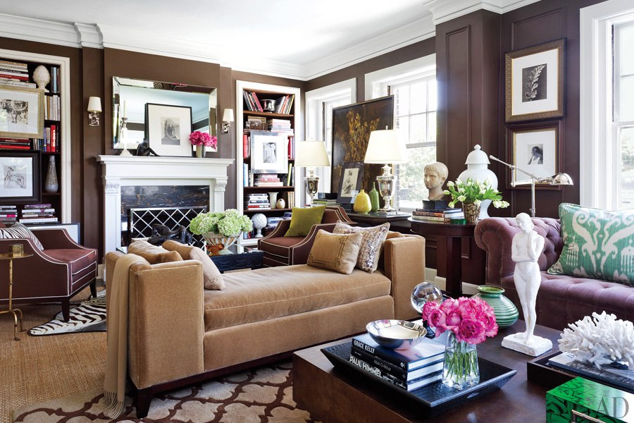 Tiffany leigh interior design the tale of two sittings for Living room with 2 seating areas