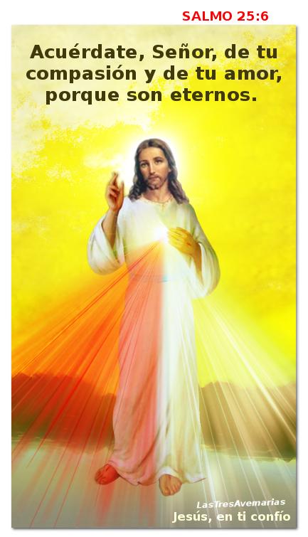 jesus salmo 25 versiculo 6
