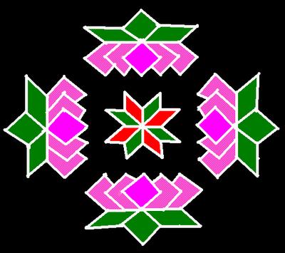 Kolam with Dots