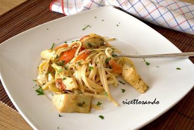 Pasta trenette e carciofi alla ligure ricetta primi piatti