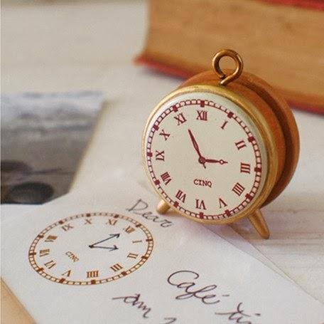 clock stamp - cinq