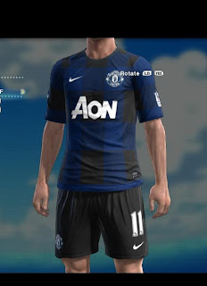 Download Manchester United Away Kits 13-14 by Asun11