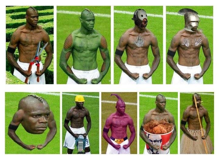 Mario Balotelli Album Nyleneh
