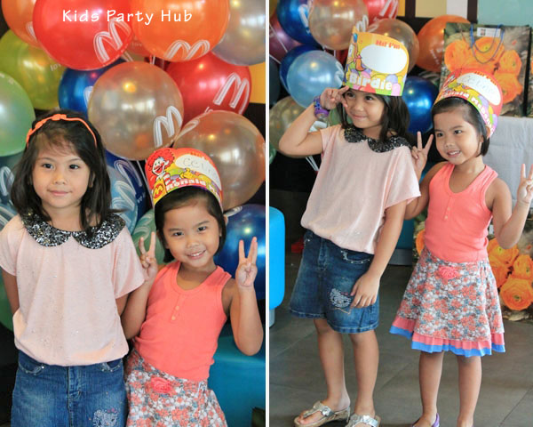 McDonalds Birthday Party at Blue Ridge Katipunan