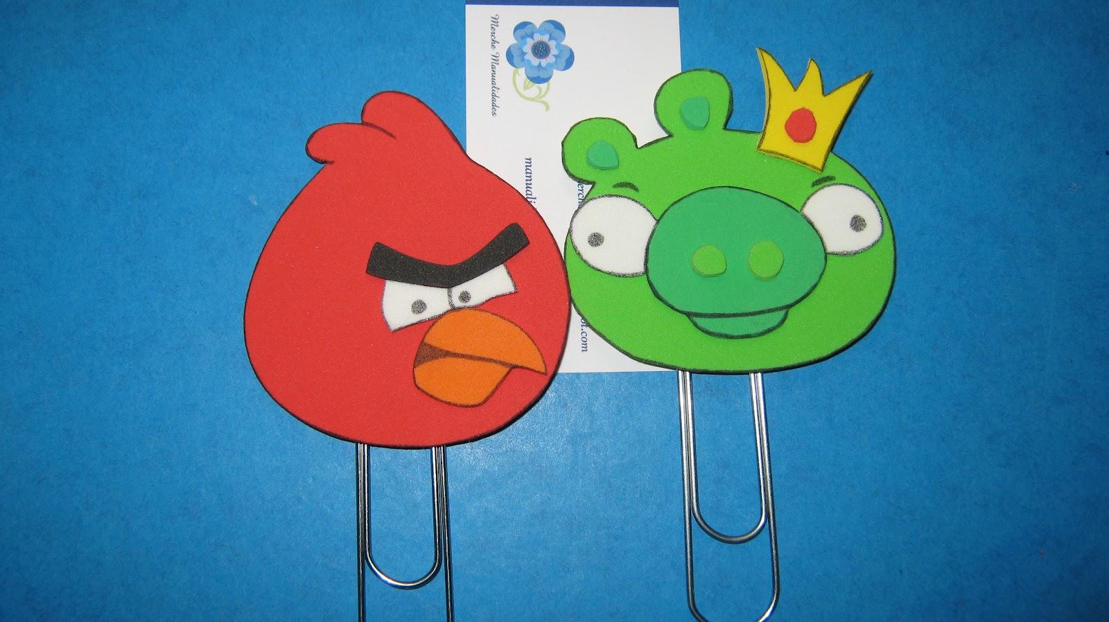 Invitacion De Angry Birds En Goma Eva