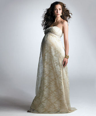 UNIQUE Fashion Maternity Wedding Gowns